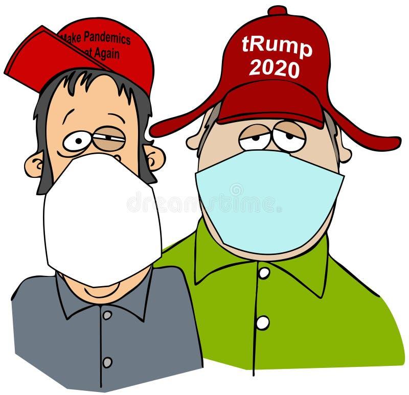 Two Rednecks stock illustration. Illustration of okie, comic - 45642