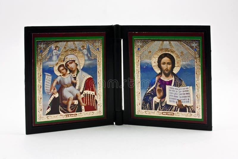 Two religious icons