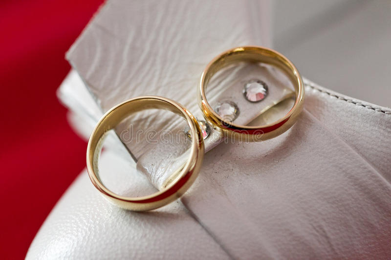 Download Two rings stock photo. Image of anniversary, golden, marry - 24932364