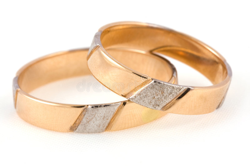 Download Two rings stock image. Image of round, gold, family, shining - 7486433