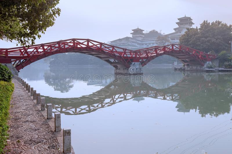 The Two Rivers and Four Lakes,Guilin royalty free stock photo