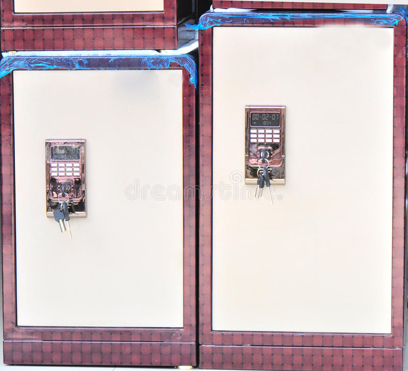 Two safe deposit boxes shop