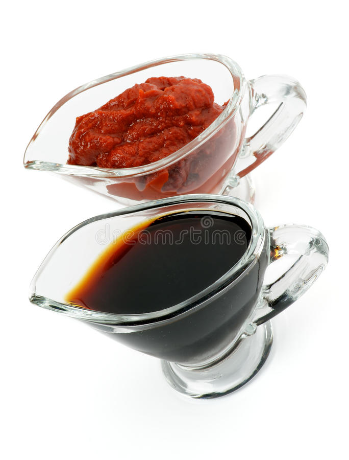 Download Two Sauces stock image. Image of chutney, tomato, sauce - 26645103
