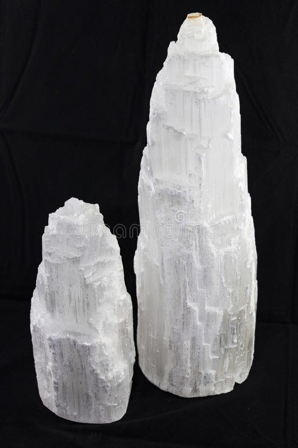 Free Two Selenite Towers Royalty Free Stock Photo - 88681615
