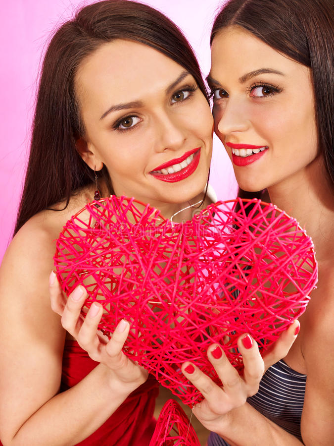 Two Lesbian Women Kissing In Erotic Foreplay Game Stock Photo - Image 41016127-1402