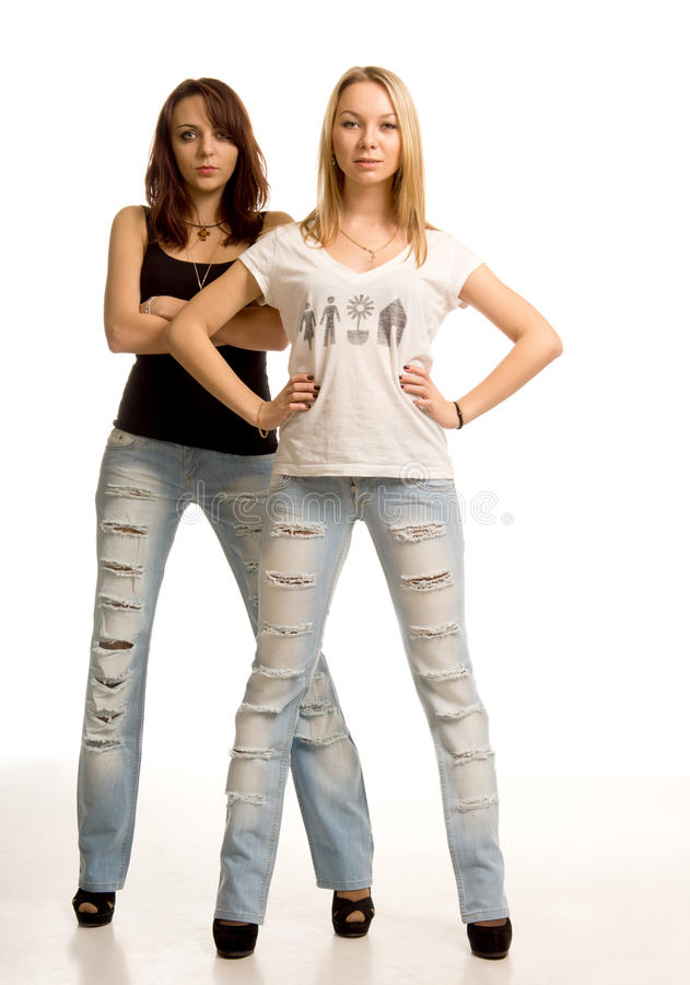 Download Two Young Women With Attitude Stock Photo - Image: 28380830