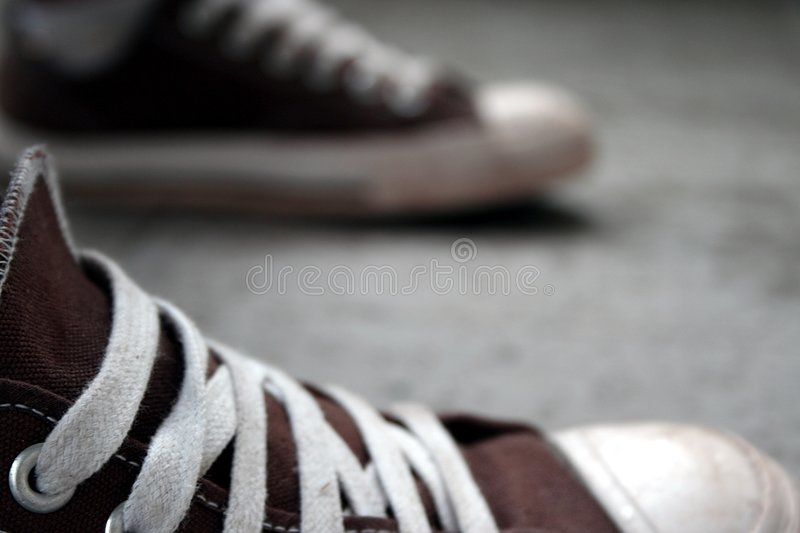 Two shoes stock photos