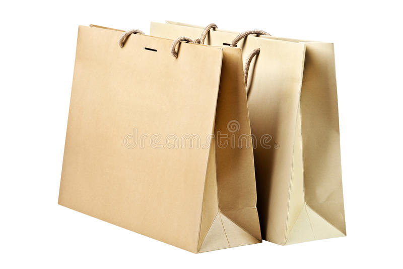 Download Two  shopping bags. stock photo. Image of buying, object - 23347076