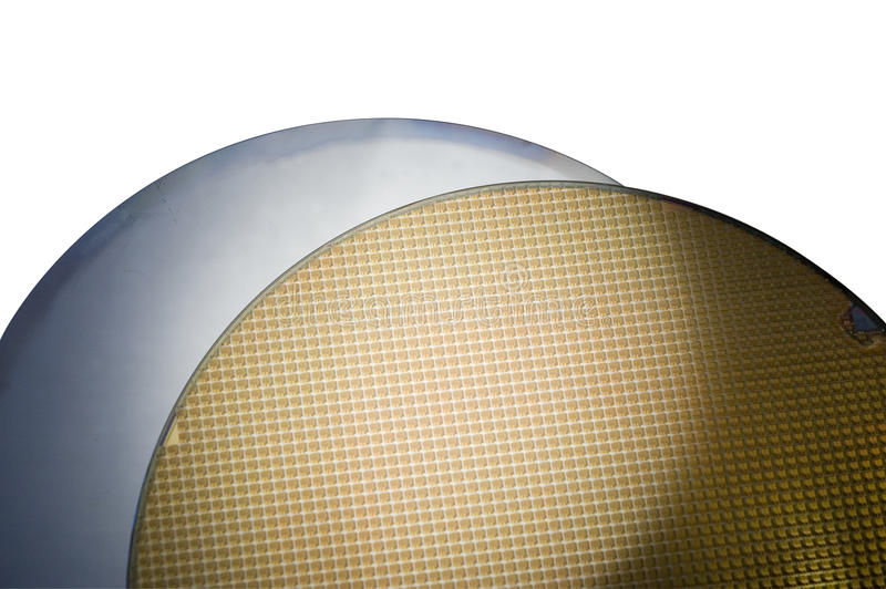 Two SIM Wafers royalty free stock image