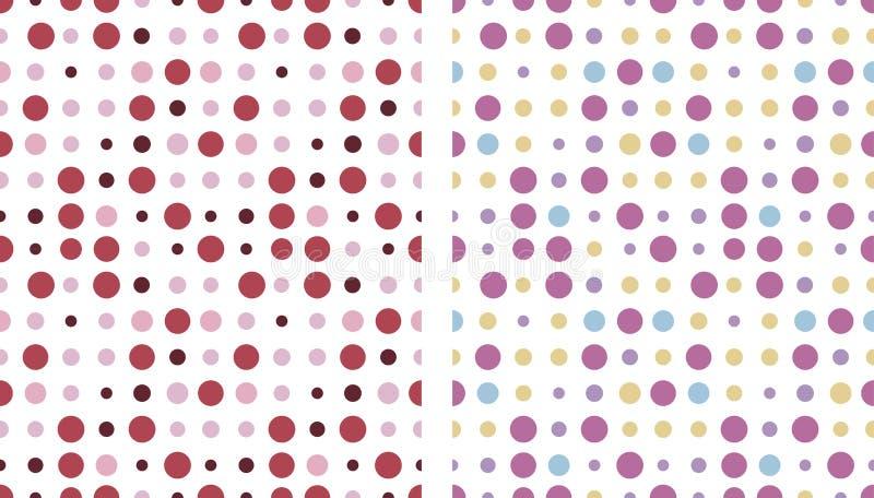 Circles pattern seamless royalty free stock image