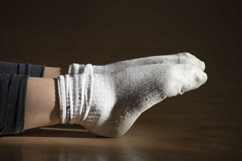 Two socks royalty free stock photo