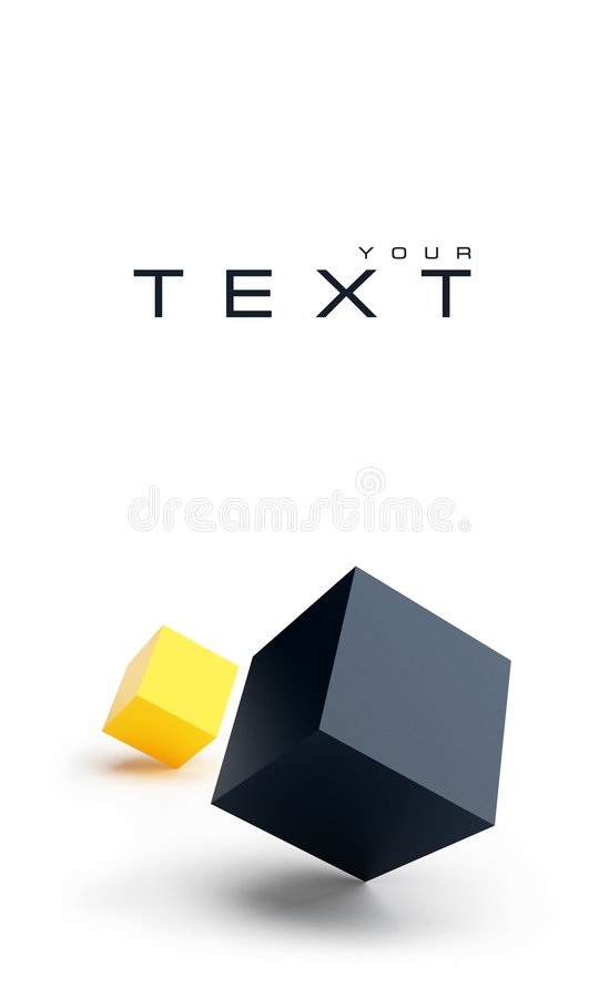 Download Two Squares Stock Image - Image: 8825271