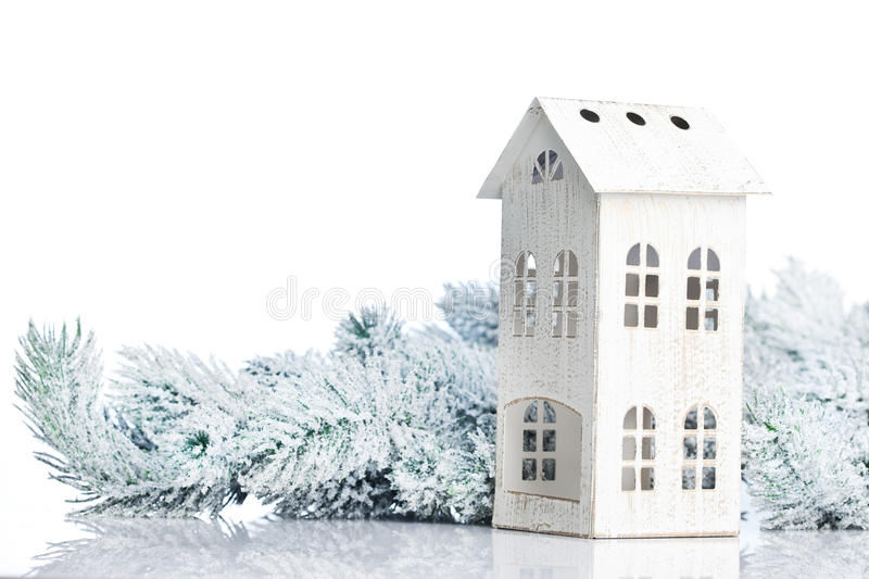 Download Two-storied house stock photo. Image of crystal, event - 28146664