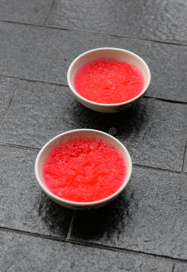 Download Two strawberry jelly stock photo. Image of beautiful - 35745740