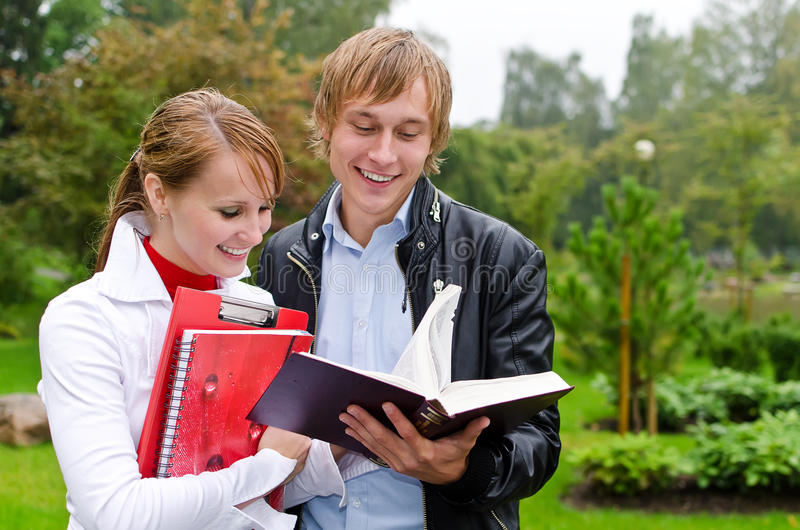 Download Two Students Royalty Free Stock Photo - Image: 26516875
