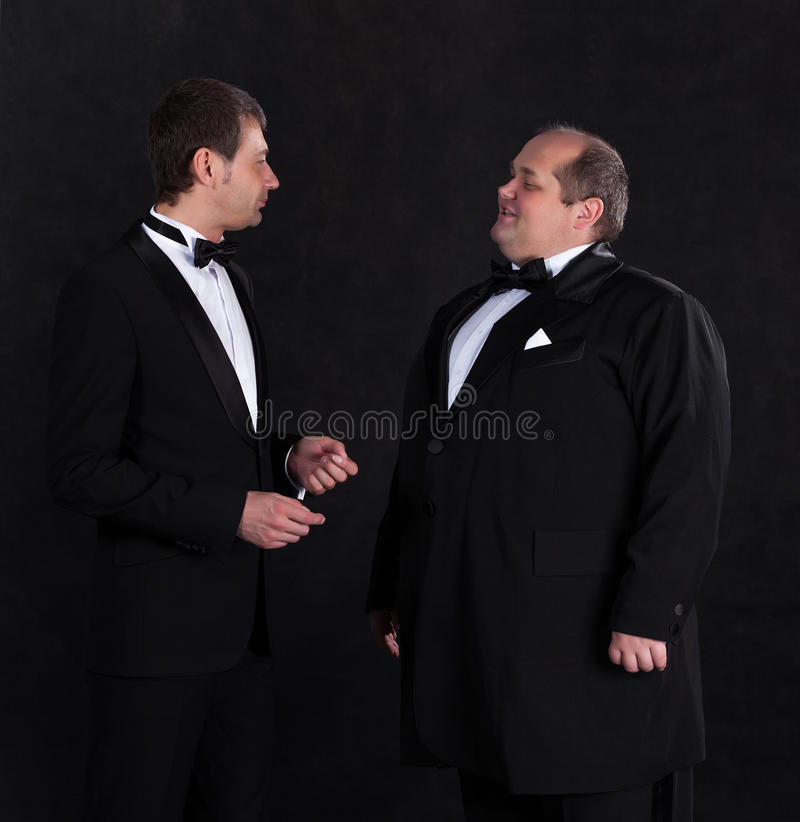 Download Two Stylish Businessman In Tuxedos Royalty Free Stock Images - Image: 31111469