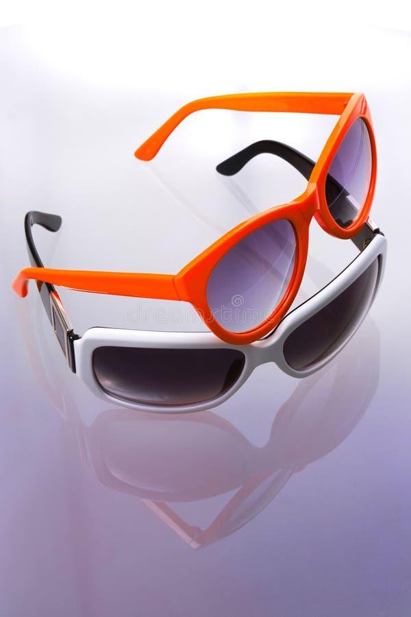 Download Two sunglasses stock photo. Image of orange, blue, sunshades - 11706120