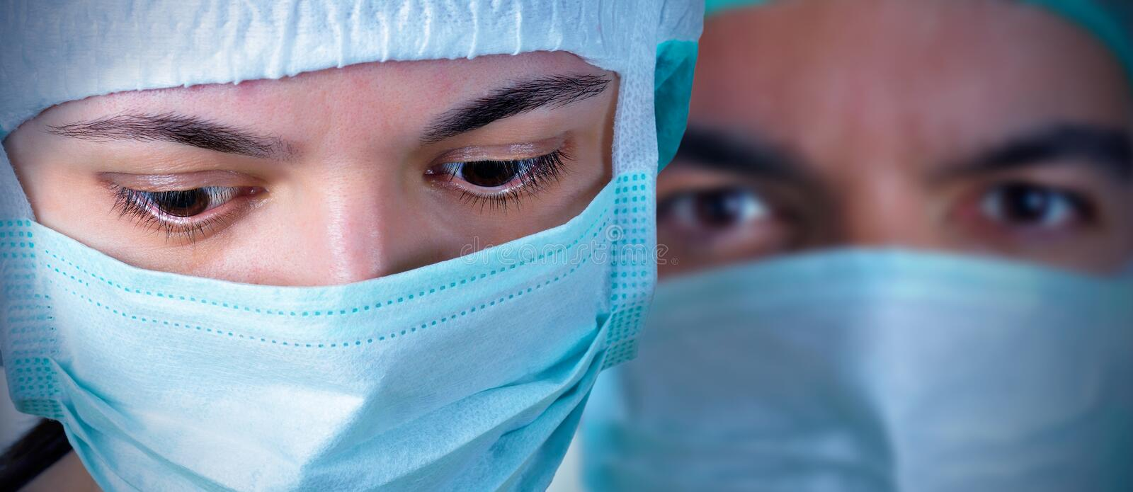 Two Surgeons Royalty Free Stock Photo
