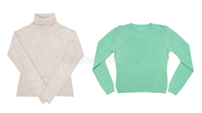 Download Two sweaters stock image. Image of clothes, fabric, beauty - 28063601