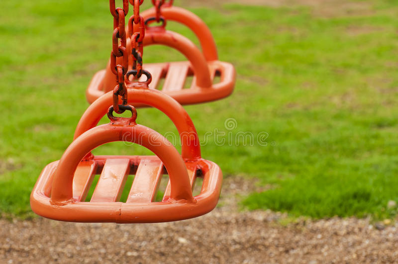 Download Two Swing stock image. Image of countryside, seesaw, grassland - 25241955