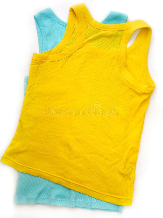 Download Two Tank Tops stock photo. Image of spring, clothes, wear - 9328