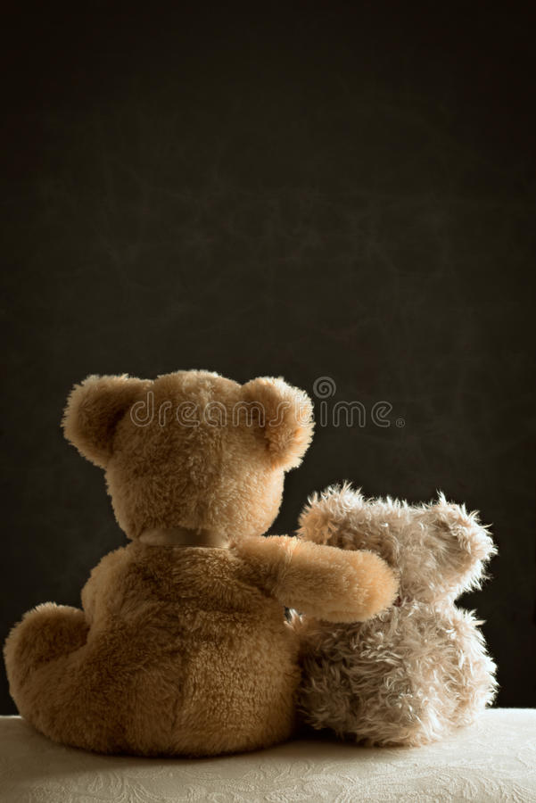 Free Two Teddy Bears Royalty Free Stock Photos - 38163668