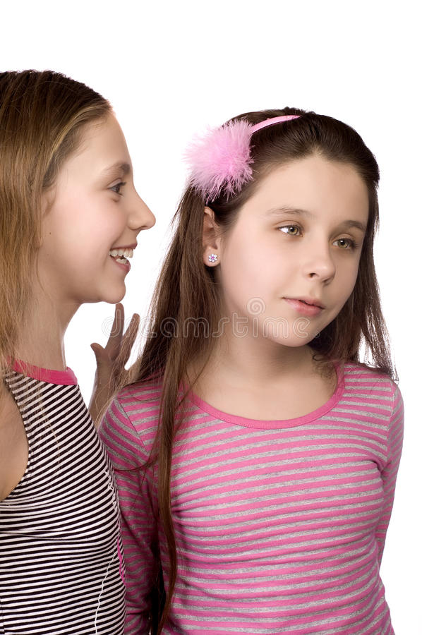 Download Two Teenage Girls Sharing Secrets Stock Photo - Image: 13044708
