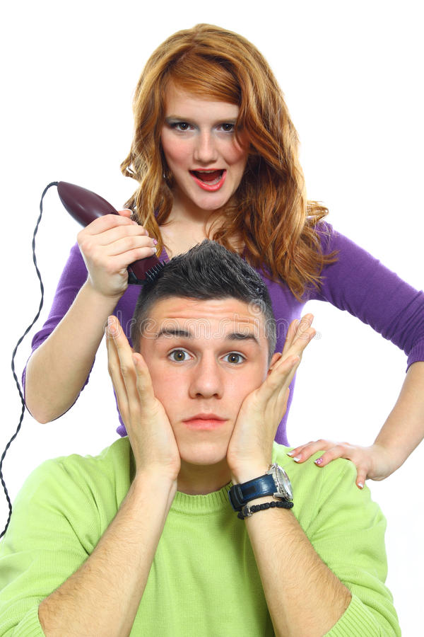Two teenagers lifestyle stock photos
