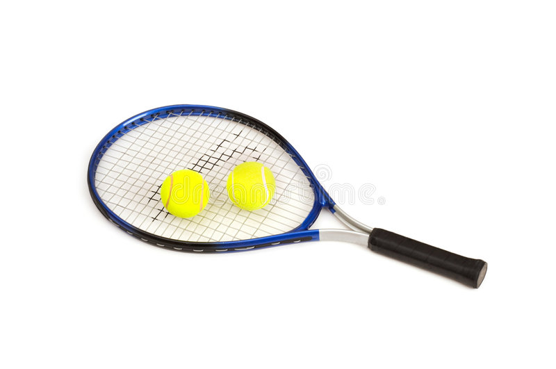 Download Two tennis balls stock photo. Image of player, racket - 6781062