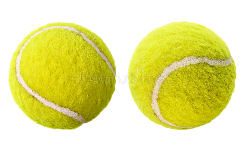 Download Two Tennis Balls Isolated Stock Image - Image: 11338301