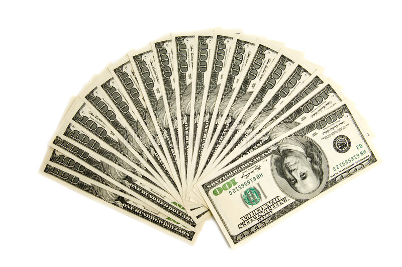 Download Two Thousand American Dollars Stock Image - Image: 7440825
