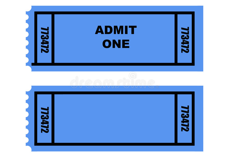 Download Two tickets stock illustration. Image of artwork, background - 9320258