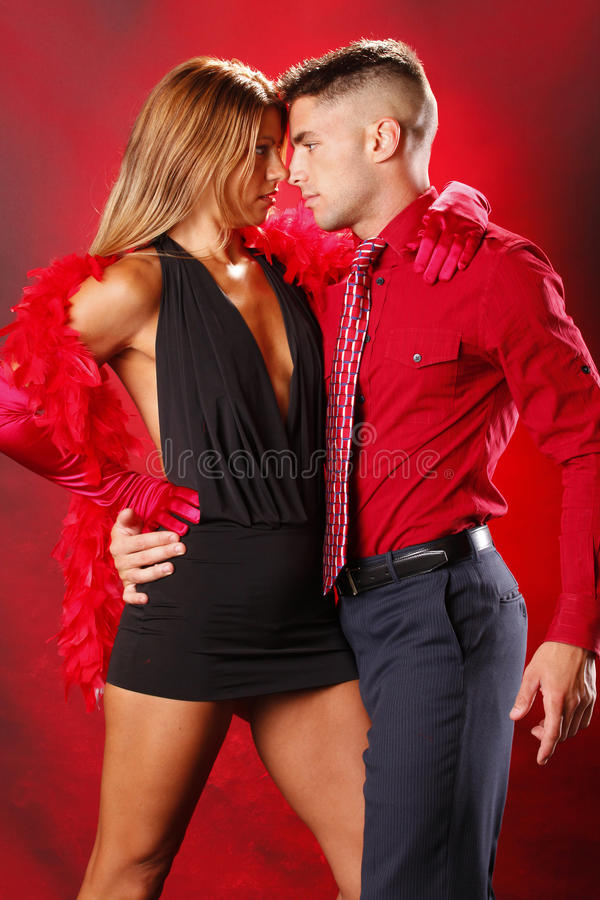 Download Two to tango stock image. Image of male, dance, lace - 15284959