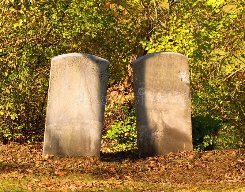 Download Two tombstones stock image. Image of afterlife, landmarks - 16580385