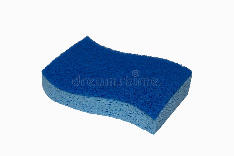 Download Two-tone blue sponge stock image. Image of holes, toned - 1403057