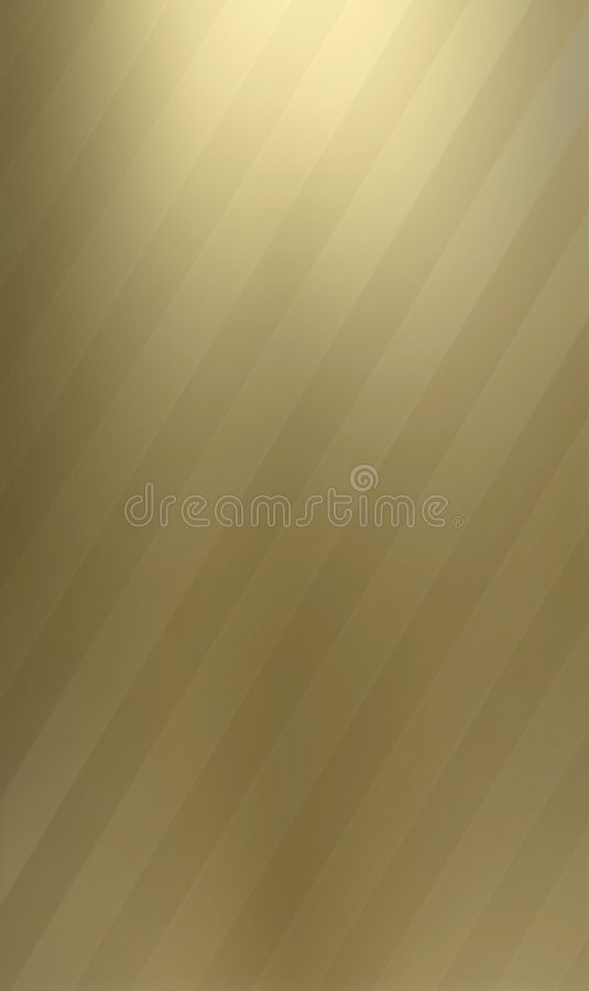 Two-toned brass metallic background vector illustration