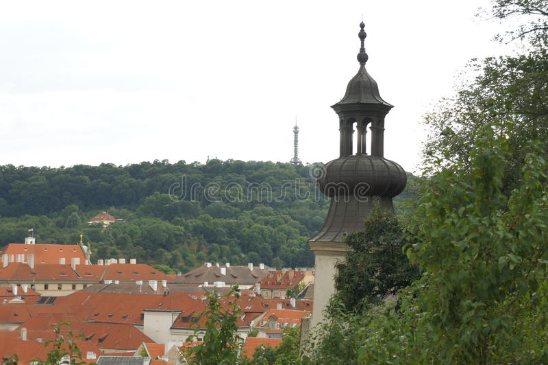 Two towers royalty free stock image