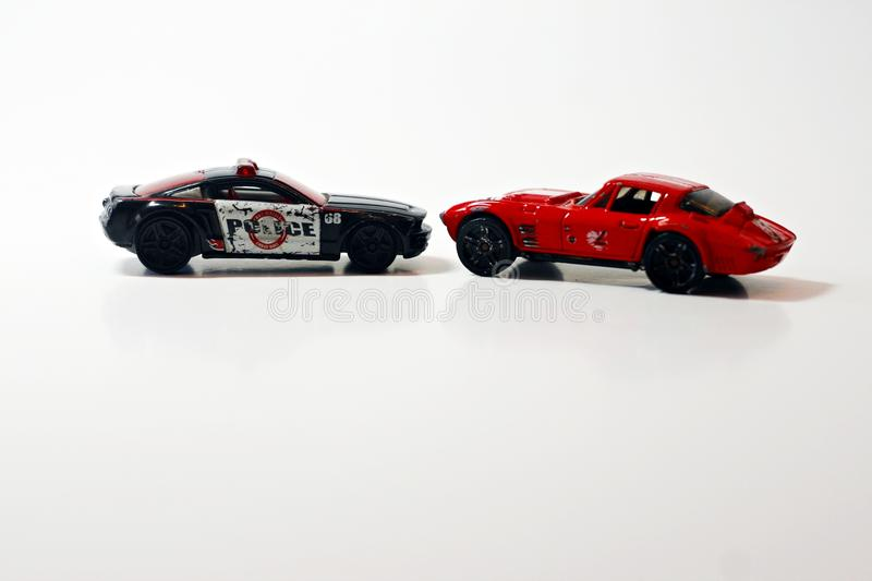 Download Two Toy Cars Stock Image. Image Of Background, Stylish   41885771