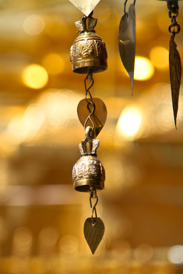 Download Two Tradition Asian Bells Stock Photography - Image: 16934542