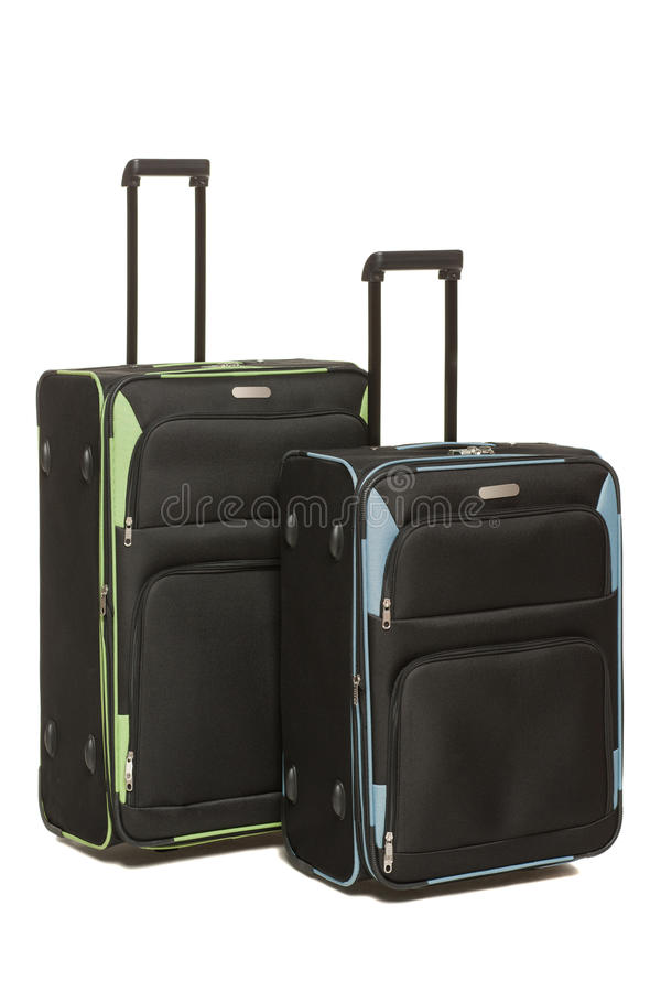 Download Two Travel Suicases On Wheels Stock Image - Image: 26065229