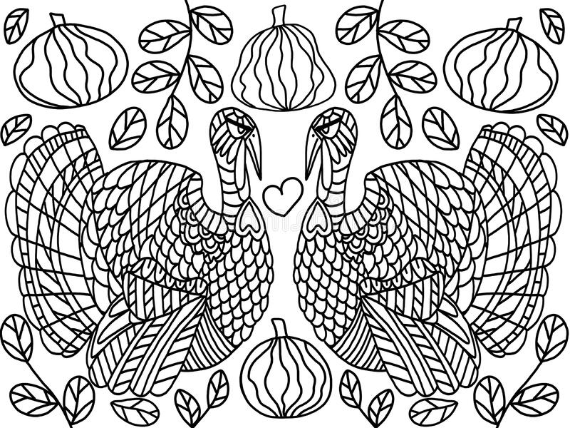 FREE Thanksgiving Coloring Pages for Adults & Kids - Happiness is ... | 600x800