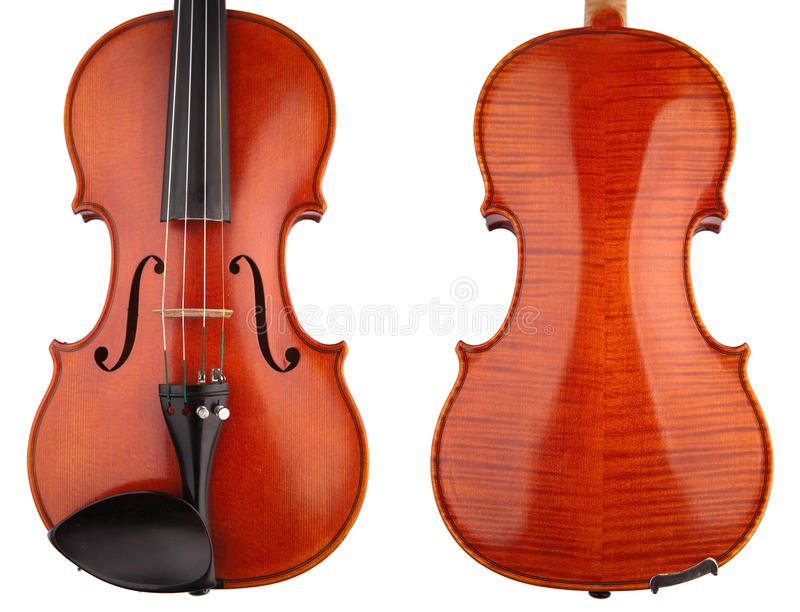 Two Violin Stock Photography