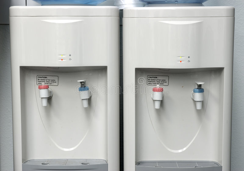 Download Two water coolers. stock photo. Image of bottles, equipment - 143680