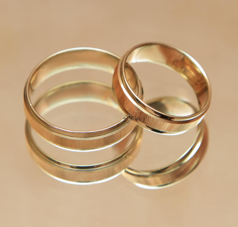 Download Two wedding rings stock photo. Image of join, celebration - 21557434