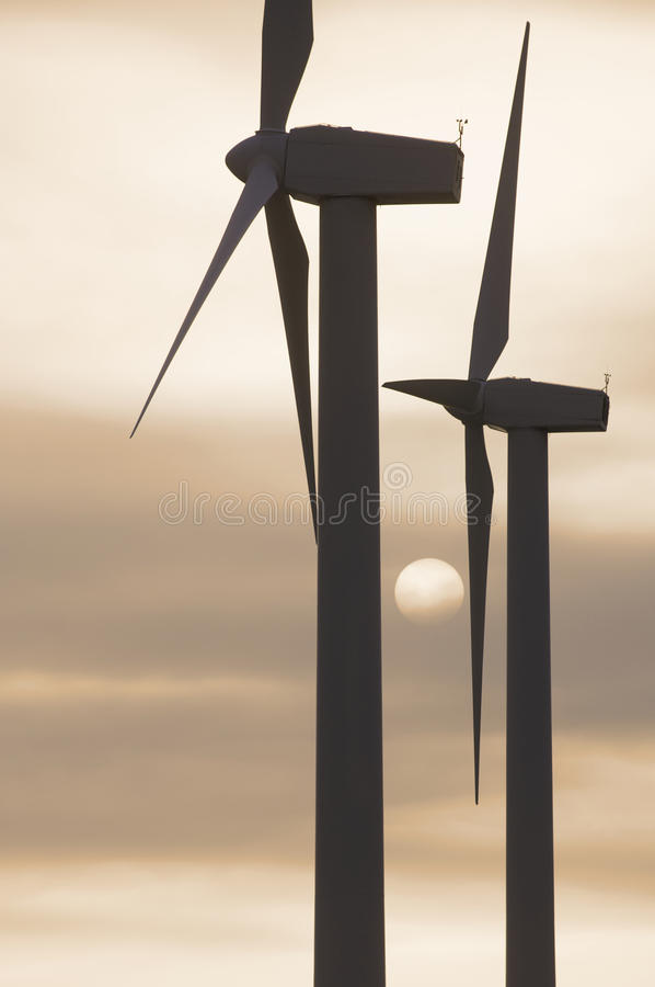 Free Two Windmills Stock Images - 11103154