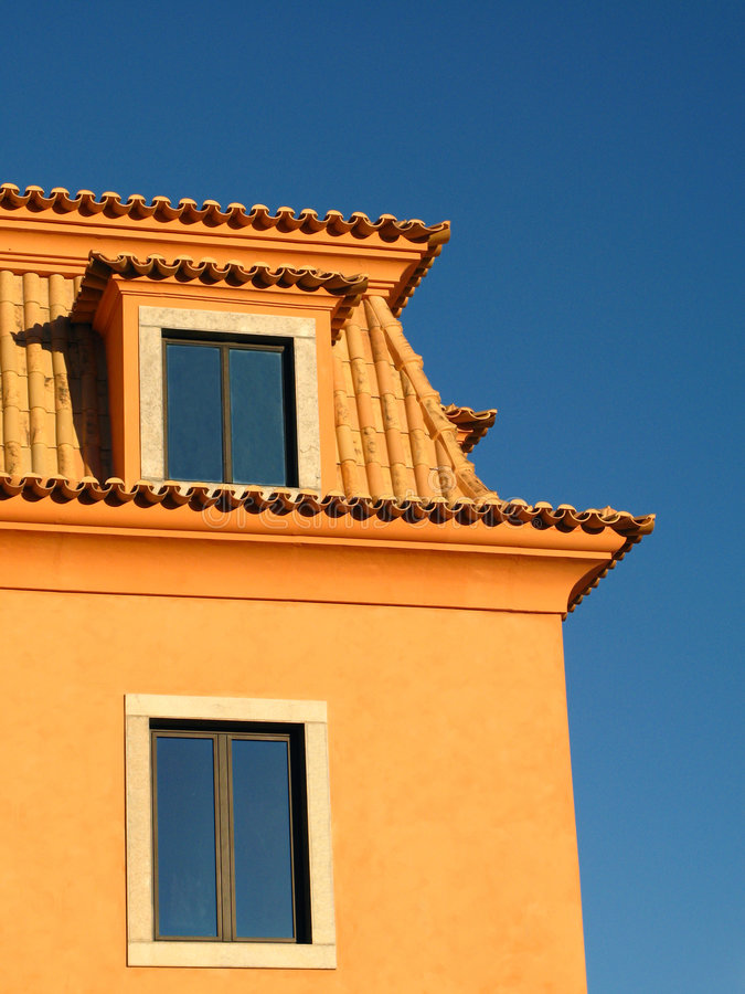 Download Two Windows stock image. Image of plaster, architecture - 2099009