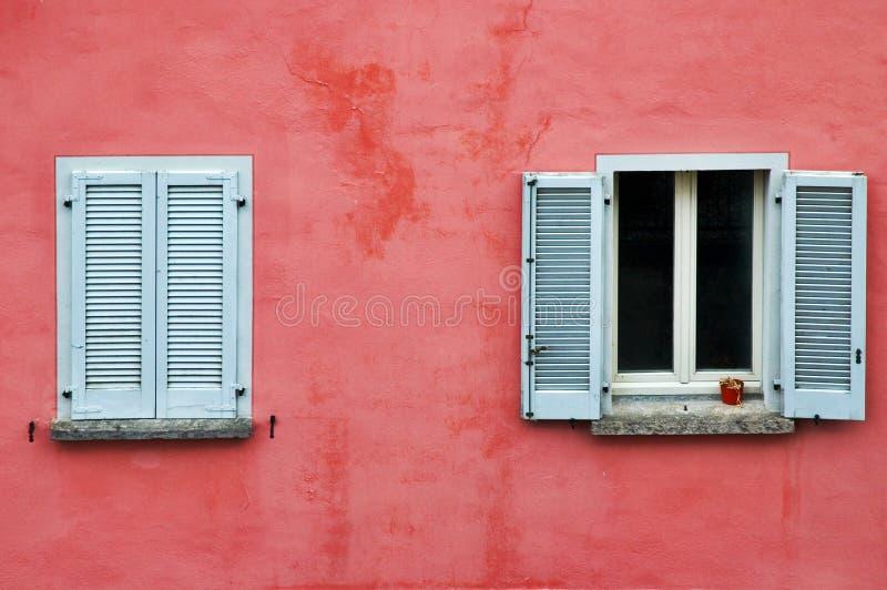 Two windows stock image
