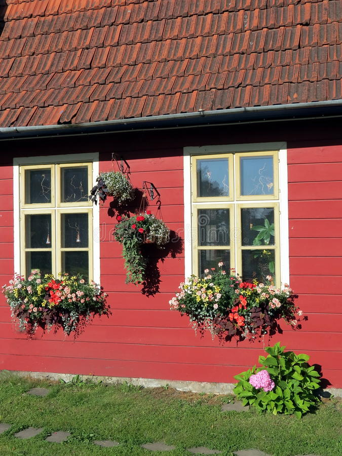 Download Two windows stock photo. Image of home, lithuania, color - 32539272
