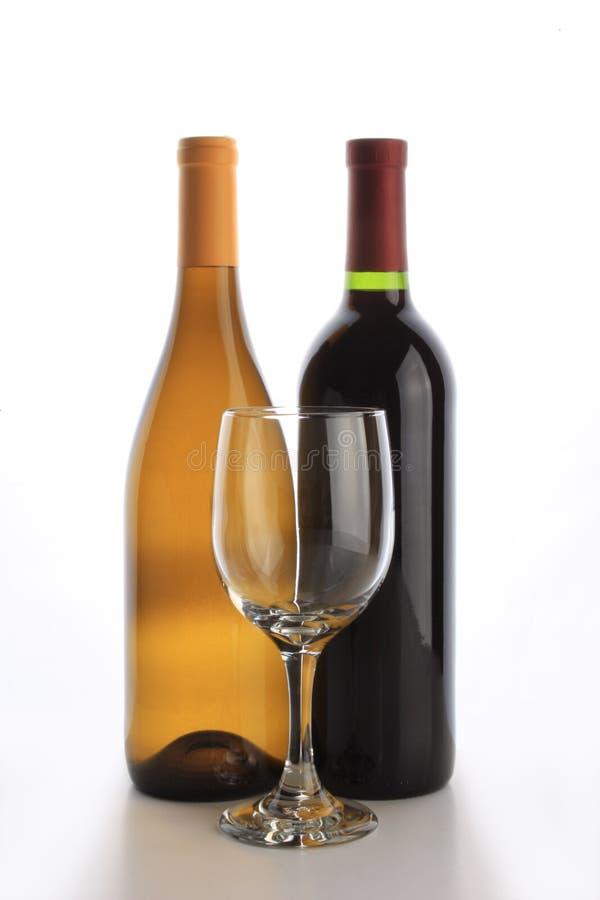 Two Wine Bottles Stock Image