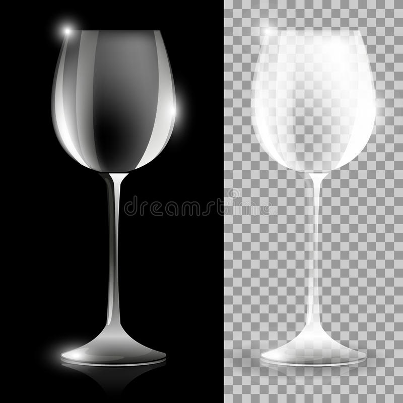 Free Two Wine Glass Illustrations Stock Photos - 44573433